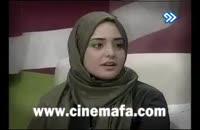 درگیری لفظی میان نیلوفر دوستی و نرگس محمدی در برنامه ی زنده