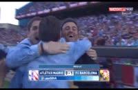 جشن قهرمانی زود هنگام بارسلونا