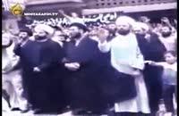 بیعت سید عباس موسوی با امام خمینی(ره) و مقام معظم رهبری