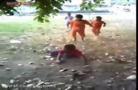 دعوا مبارزه رزمی میان کودکان