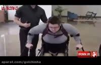 معلولان بدون ویلچر راه می روند.