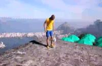 حرکات نمایشی اندروهندرسون درشهرریو برزیل