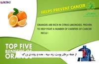 خاصیت اصلی میوه پرتقال_ضد سرطان