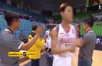 بسکتبال جام ملت های آسیا؛ ایران ۱۲۲-۴۲ مالزی