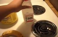 روش تهیه شیر موز
