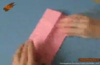اوریگامی ساخت پروانه با کاغذ