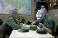 شوخی خیلی خنده دار در سربازی(حتما ببینید)!!!!!!!!!!