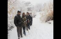 طبیعت برفی بردسکن و بارش برف بی سابقه