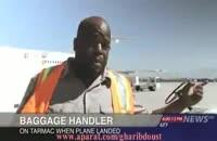 نجات یك هواپیمای در حال سقوط توسط یك وانت