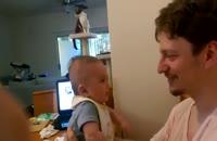 کلیپی از حرف زدن بچه سه ماه !!!