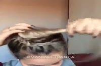 آموزش بافت موی زیبا