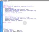 ویدیوی آموزش CSS3 Flip 3D Animation یا پشت و رو شدن تصاویر با حرکت موس کاربر بوسیله سی اس اس3