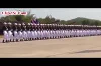 حرکات هماهنگ سربازان