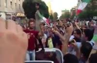 کلیپ های برتر -  طرفدارای ایران درست ولی کجا؟؟؟!!!