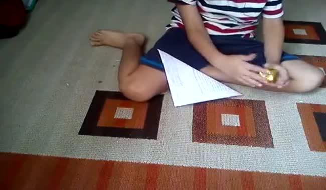 آموزش ساخت بالون اریگامی
