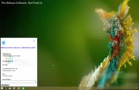 کورتنا در ویندوز ۱۰ مایکروسافت