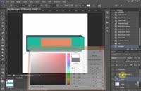 آموزش طراحی عناوین کاربری با طرح فلت و شیک