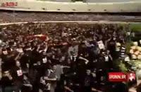 تشییع هادی نوروزی کاپیتان پرسپولیس