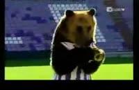 خرسِ عاشق فوتبال