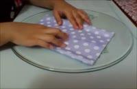 آموزش ساخت کیف کادو با کاغذ