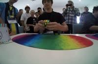 حل مکعب روبیک با زمان 5.75 ثانیه توسط Feliks Zemdegs