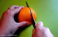 درخت کاج پرتقالی درست کنید