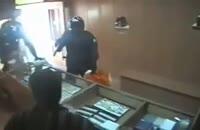 سرقت مسلحانه از طلافروشی با لباس نیروی انتظامی