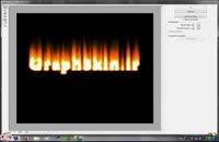 آموزش تایپو گرافی آتشین در فتوشاپ cs۶