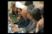 انتقاد تند رحیم پور از هاشمی در حضور وی