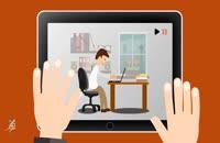 انیمیشن کوتاه آموزشی(نشستن)