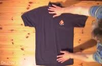 آموزش تا زدن لباس در 3 سوت