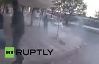 برخورد پلیس ترکیه با معترضین