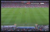 گلهای بازی لیون و بارسلونا