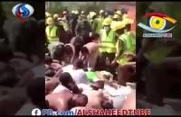 فیلم حادثه کشته شدن زائران مراسم رمی جمرات (2)
