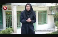 مرد ایرانی که با شیر کشتی می گیرد