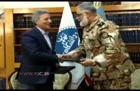 امضاء تفاهم نامه همکاری دانشگاه تهران و نيروی زمينی ارتش