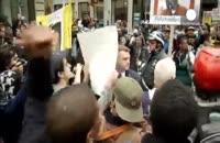 اعتراض به برخورد نژاد پرستانه