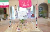 8 شهید گمنام در باغ موزه دفاع مقدس ساری