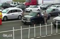 مرغ سرکش پلیس آمریکا را سرکار گذاشت.