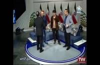 سوتی و کل کل خنده دار حسن ریوندی در برنامه زنده