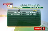 گلها هفته یازدهم لیگ یک/شهرداری اردبیل-نیروی زمینی تهران