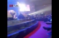 کلیپ نیوشا ضیغمی در کنسرت بنیامین بهادری