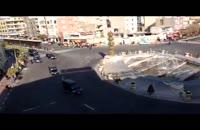 کاروان اسکورت پوتین در میدان جمهوری