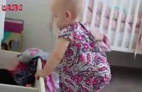کمک کردن به مادر به شیوه کودکانه