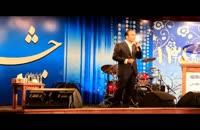 اجرای تقلید صدا و شومنی خنده دار حسن ریوندی - تقلید صدای شهرام شکوهی
