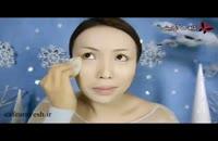 فیلم آموزش میکاپ و آرایش به سبک السا - شیک و زیبا