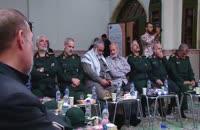 مراسم استقبال از پیکر شهید حسین همدانی