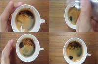 یک فنجان قهوه خوشمزه و زیبا