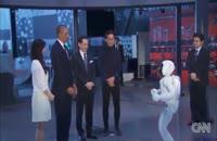 فوتبال بازی اوباما با ربات
