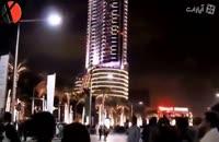کریسمس در برج خلیفه